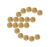 Euromünzen Stockfotografie