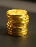 Euromünzen Lizenzfreie Stockfotos