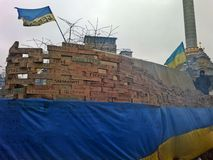 Euromaidan在乌克兰 免版税库存照片