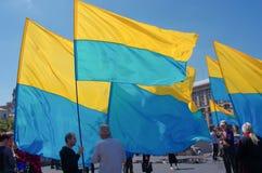 Euromaidan, Ουκρανία Στοκ φωτογραφία με δικαίωμα ελεύθερης χρήσης