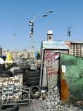 Euromaidan, за 3 дня до столкновений с правительством Стоковые Фотографии RF