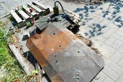 Euromaidan, за 3 дня до столкновений с правительством Стоковые Изображения