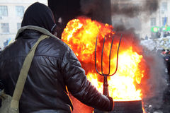 Euromaidan Stock Photo