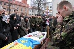 Euromaidan foto de archivo