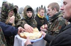 Euromaidan imagen de archivo libre de regalías