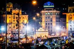 Euromaidan imagens de stock