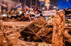 Euromaidan imagem de stock