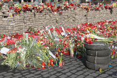 Euromaidan imágenes de archivo libres de regalías