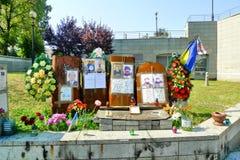 Euromaidan, drie dagen vóór de conflicten met overheid royalty-vrije stock fotografie