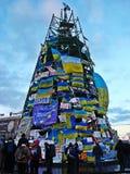Euromaidan em Ucrânia Imagem de Stock