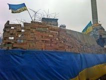 Euromaidan i Ukraina Royaltyfri Foto