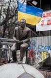 Euromaidan, Kyiv después de la protesta fotos de archivo