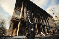 Euromaidan Revolución de la libertad imagen de archivo libre de regalías