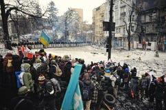 Euromaidan. Revolution of Freedom. Stock Photos