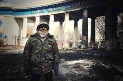 Euromaidan. Revolution of Freedom. Royalty Free Stock Photos