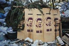 Euromaidan. Revolution of Freedom. Stock Images