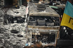 Euromaidan. Revolution of Freedom. Royalty Free Stock Photography