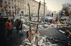 Euromaidan. Revolution of Freedom. Royalty Free Stock Images