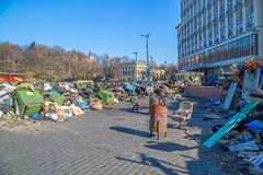 Euromaidan revolution in Kiev Royalty Free Stock Image
