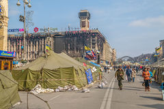 Euromaidan revolution in Kiev Royalty Free Stock Photos