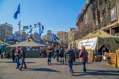 Euromaidan revolution in Kiev Royalty Free Stock Photography