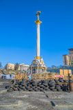 Euromaidan revolution in Kiev Stock Images