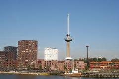 euromast鹿特丹 库存照片