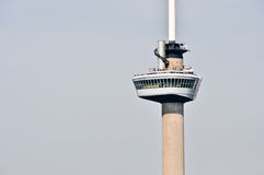 Euromast. Zoomed view on the Euromast tower. A landmark of Rotterdam, The Netherlands Royalty Free Stock Image