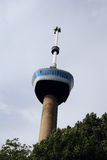 Euromast. The panoramic tower euromast in Rotterdam Royalty Free Stock Image