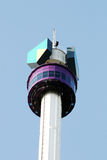 Euromast. The panoramic tower euromast in Rotterdam Royalty Free Stock Images