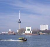 Euromast i Rotterdam Fotografering för Bildbyråer