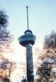 Euromast im Platz Rotterdam lizenzfreies stockbild