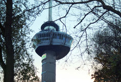 Euromast n the place Rotterdam Stock Photo