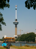 Euromast. Is an observation tower in Rotterdam, Netherlands, designed by Hugh Maaskant constructed between 1958 and 1960 Royalty Free Stock Photography