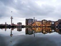 Euromast Países Baixos fotografia de stock