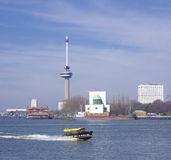 Euromast w Rotterdam Obraz Stock