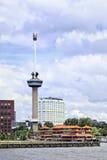 Euromasten, Rotterdam, Holland Arkivbilder