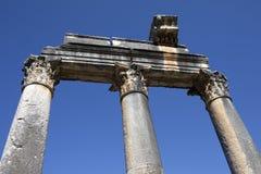 Euromos寺庙 库存照片
