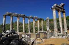 Euromos ruins in Turkey Stock Photo