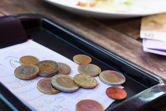 Euromynt. Royaltyfria Foton