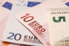 Euronotes Stock Photos