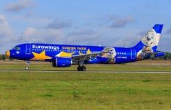 Euronwings flygbuss A320 arkivbild