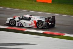 Europäer-Le Mans-Reihe Ginetta - Nissan in Imola Stockfotografie