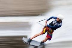 Europäer Wakeboard-Meister Lizenzfreies Stockfoto