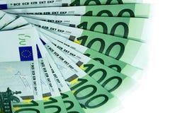 Europäische Banknoten Stockbilder