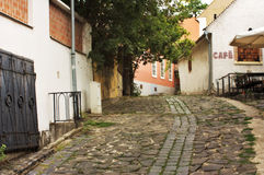 Europäische Gasse, Szentendre Ungarn lizenzfreie stockfotos