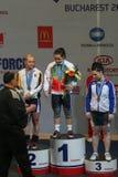Europäische Gewichtheben-Meisterschaft, Bukarest, Rumänien, 2009 Lizenzfreie Stockfotografie