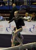 Europäische künstlerische gymnastische Meisterschaften 2009 Lizenzfreies Stockbild
