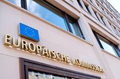 Europäische Kommission Berlin Lizenzfreies Stockbild