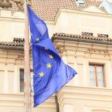 Europäische Markierungsfahne Lizenzfreie Stockfotos